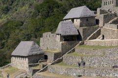 Opinião de Machu Picchu Fotografia de Stock