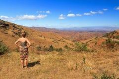 Opinião de Madagáscar Imagens de Stock
