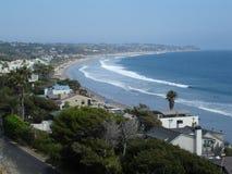 Opinião de Malibu, Califórnia Fotos de Stock Royalty Free