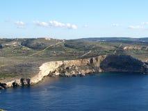 Opinião de Malta Fotografia de Stock