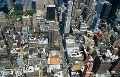 Opinião de Manhattan Imagem de Stock Royalty Free