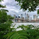 Opinião de Manhattan Fotografia de Stock Royalty Free