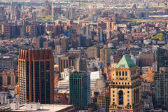 Opinião de Manhattan do telhado Fotografia de Stock