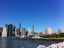 Opinião de Manhattan, NYC Fotografia de Stock