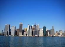 Opinião de Manhattan, NYC Foto de Stock