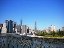 Opinião de Manhattan, NYC Imagens de Stock