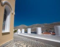 Opinião de Mediterranian Fotos de Stock Royalty Free