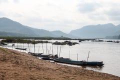 Opinião de Mekong Fotografia de Stock