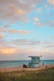 Opinião de Miami imagem de stock royalty free