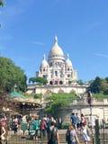 Opinião de Montmartre Foto de Stock Royalty Free