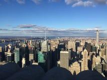 Opinião de New York Fotografia de Stock Royalty Free