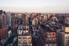 Opinião de New York de acima fotos de stock