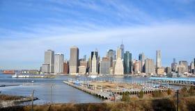Opinião de New York City Foto de Stock