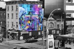 Opinião de New York HighLine imagens de stock