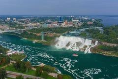 Opinião de Niagara Falls Fotos de Stock