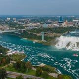 Opinião de Niagara Falls Foto de Stock Royalty Free