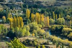 Opinião de Nova Zelândia fotografia de stock royalty free