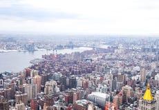 Opinião de NYC Foto de Stock Royalty Free