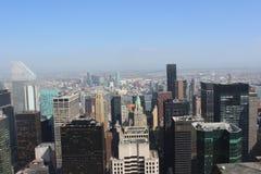 Opinião de NYC de TOTR Foto de Stock