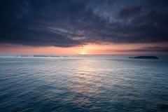Opinião de oceano Fotografia de Stock