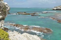 Opinião de oceano Fotos de Stock Royalty Free
