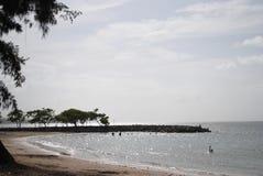 Opinião de oceano Foto de Stock Royalty Free