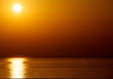 Opinião de oceano bonita foto de stock