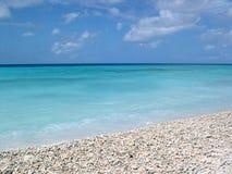 Opinião de oceano de Bonaire Fotos de Stock Royalty Free
