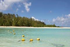 Opinião de oceano de Maurícia Fotos de Stock