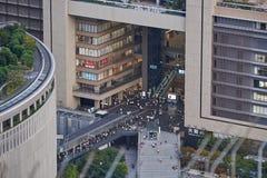 Opinião de Osaka Grand Front Osaka, Japão 2017 Imagem de Stock Royalty Free