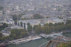 Opinião de Paris da torre Eiffel!!! Imagem de Stock Royalty Free