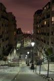 Opinião de Paris de Montmartre imagens de stock