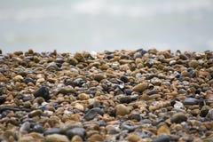 Opinião de Pebble Beach Imagem de Stock