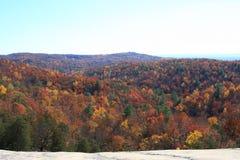Opinião de pedra da queda do parque estadual da montanha Imagens de Stock Royalty Free