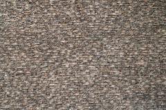 Opinião de perspectiva áspera da textura da parede de tijolo Fotografia de Stock Royalty Free