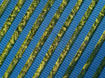 Opinião de plano solar Imagem de Stock