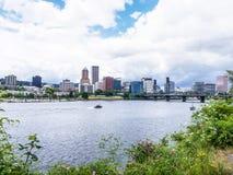 Opinião de Portland Foto de Stock