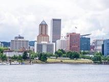Opinião de Portland Imagem de Stock