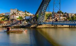 Opinião de Porto Fotografia de Stock