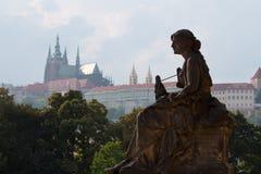 Opinião de Praga Fotografia de Stock