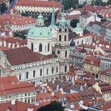 Opinião de Praga Fotos de Stock