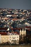 Opinião de Praga Imagens de Stock Royalty Free