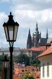 Opinião de Praga Fotos de Stock Royalty Free