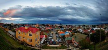 Opinião de Punta Arenas Foto de Stock Royalty Free