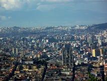 Opinião de Quito do EL Panecillo Imagens de Stock Royalty Free
