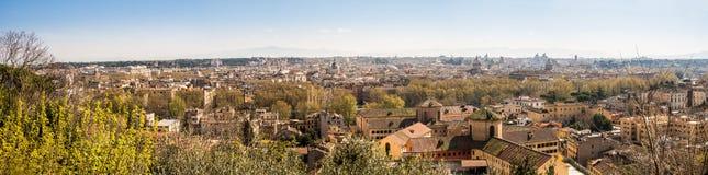 Opinião de Roma de Trastevere Fotografia de Stock