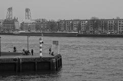 Opinião de Rotterdam Imagens de Stock