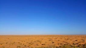 Opinião de Sahara fotografia de stock royalty free