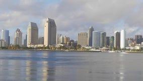 Opinião de San Diego Skyline - Califórnia, EUA - 18 de março de 2019 vídeos de arquivo