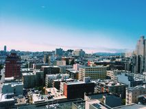 Opinião de San Francisco Fotos de Stock